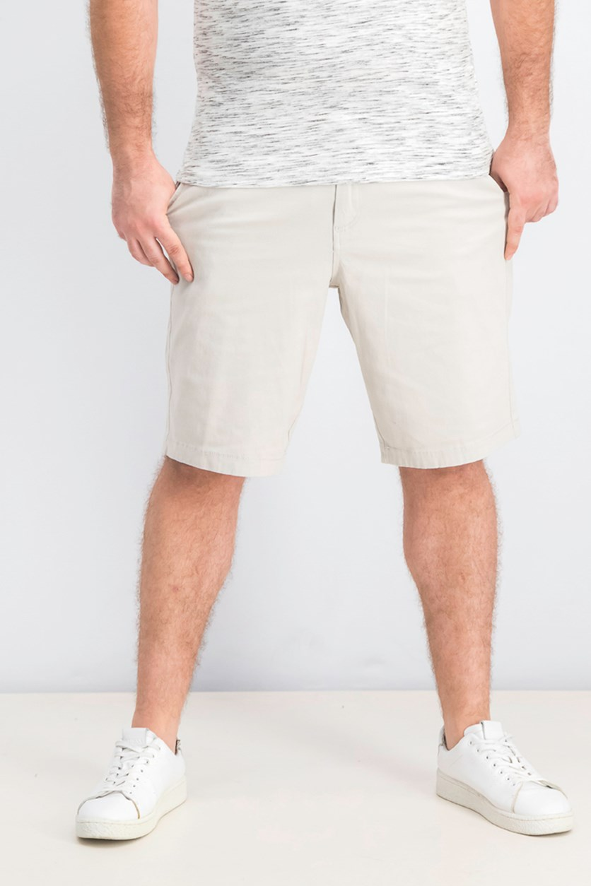 Men's Memphis Shorts, Silver Birch