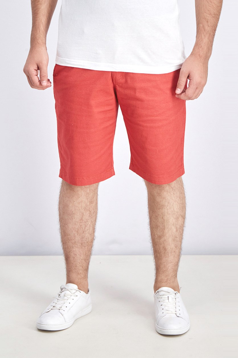 Men's Memphis Stretch Shorts, Nanred