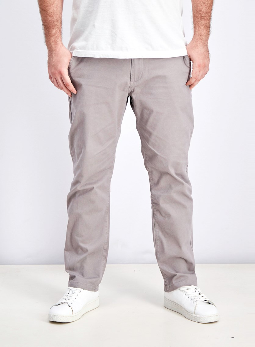Men's Castleton Chino Straight Pants, Gray
