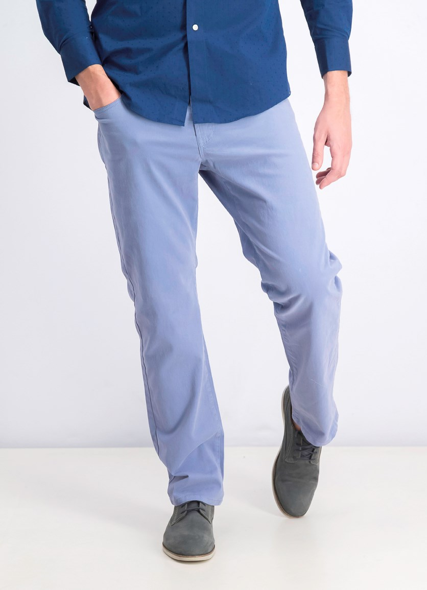 Men's Chino Pants, Light Blue