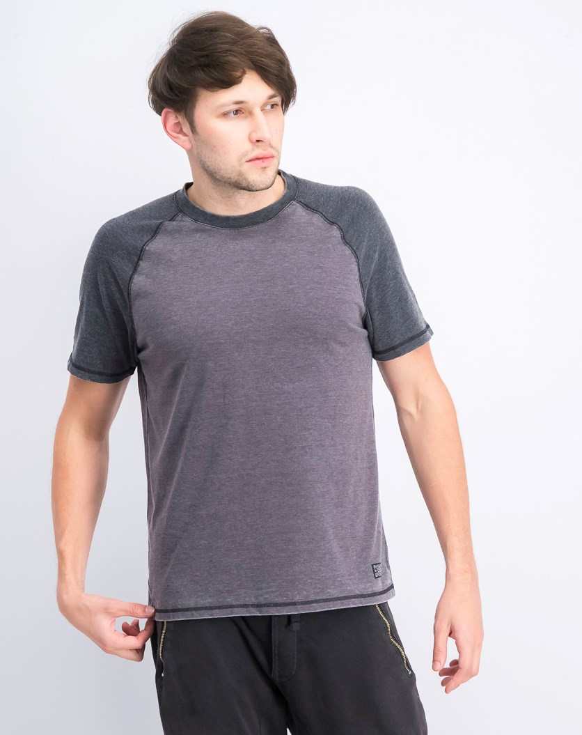 Men's Heathered T-Shirt, Grey