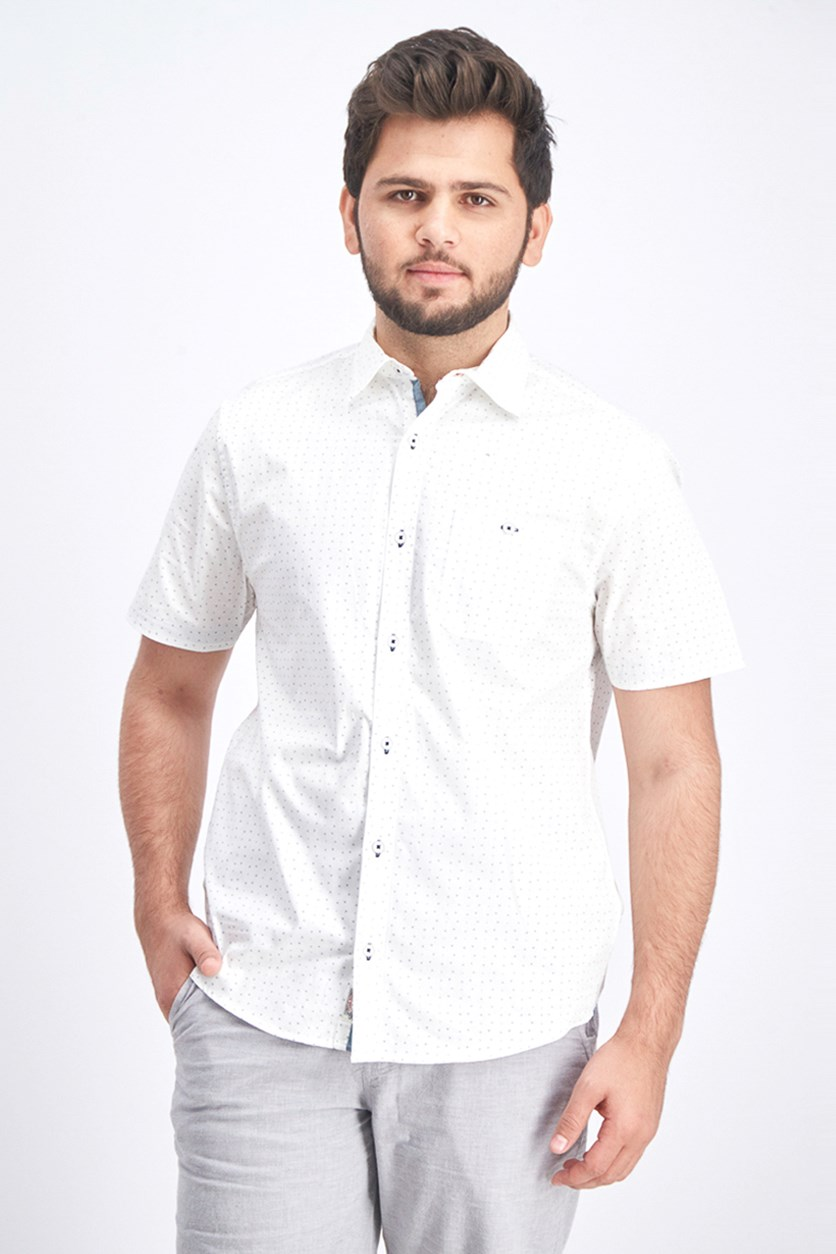 Men's Millington Shirt, White Combo