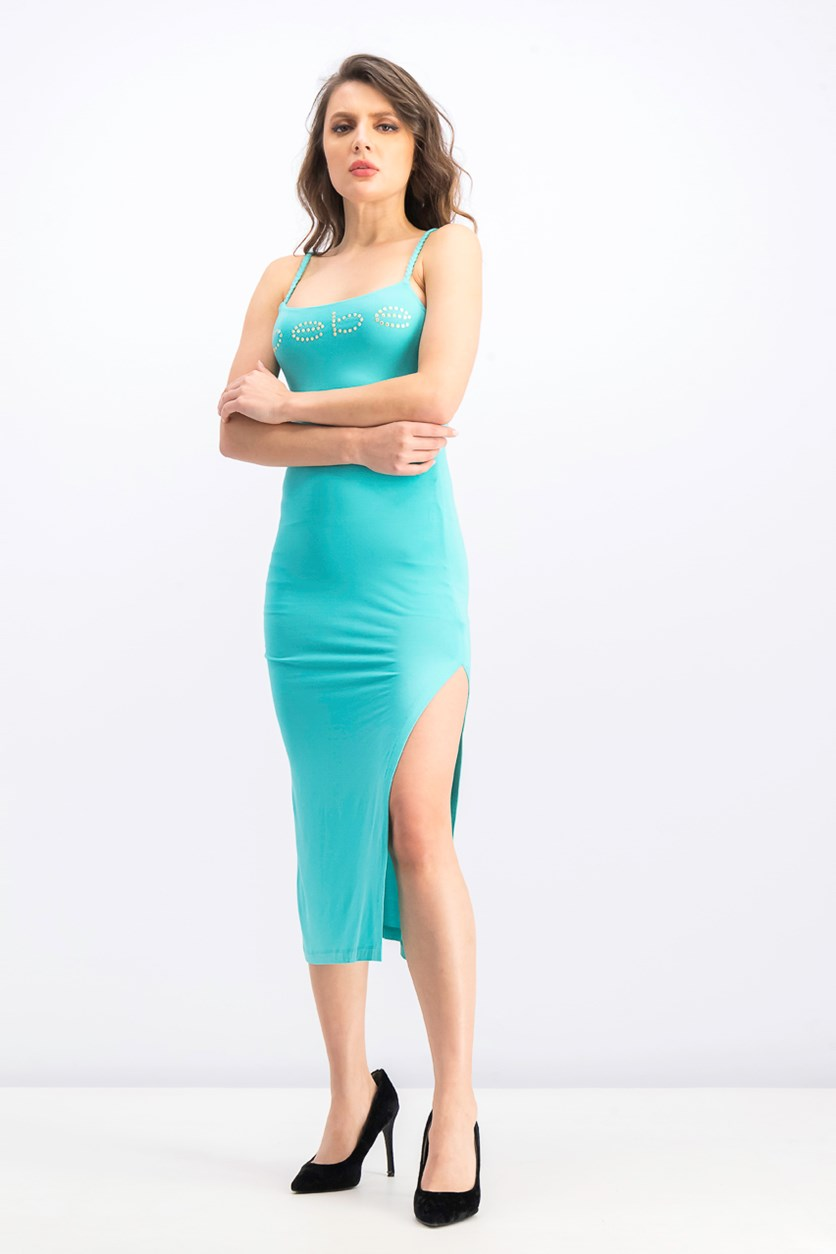 Women's Sheath Dress, Turquoise