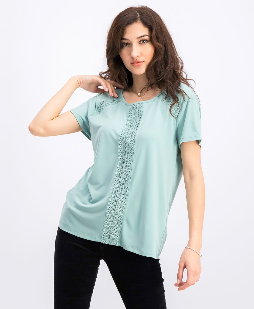 Women's Crochet Tops, Mint