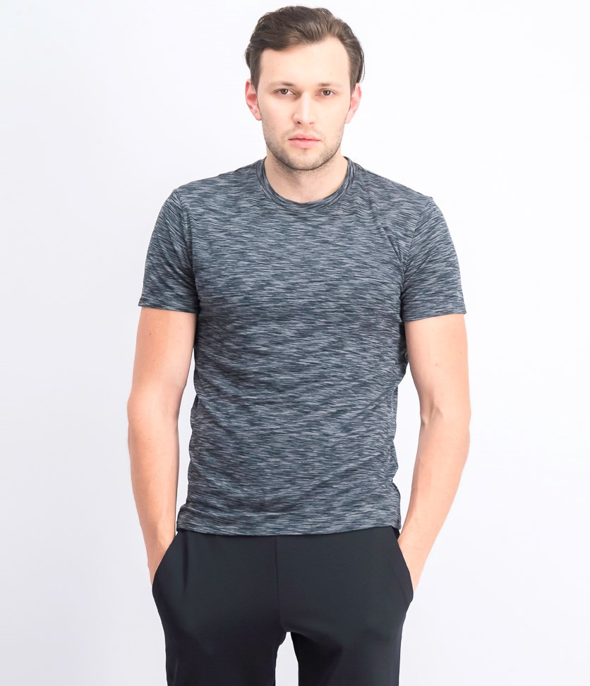 Men's Dynamic Stretch Crew-neck Undershirt, Heather
