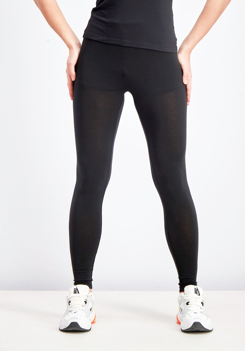 Women'd Base Layer Leggings, Black