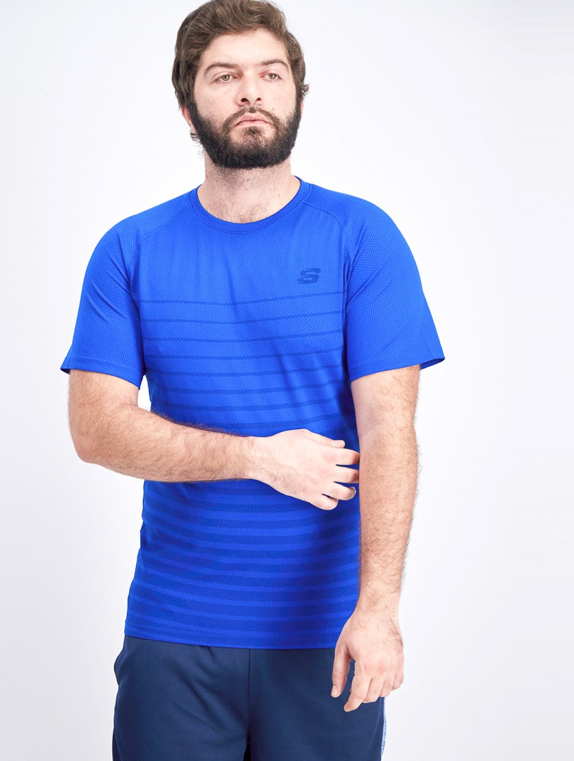 Men's Flux Seamless Tee, Turkish Sea