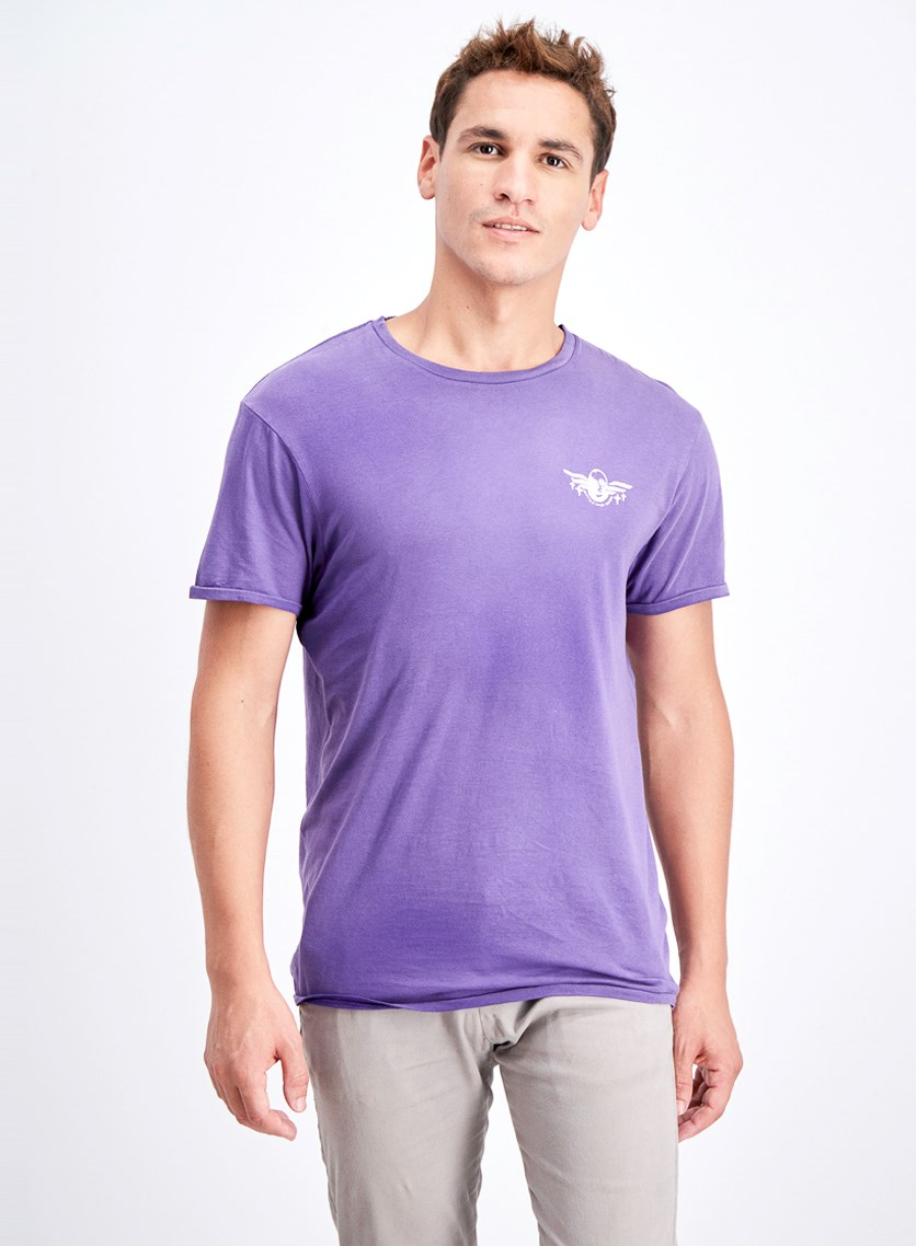 Men's Toroll Graphic T-Shirt, Violet