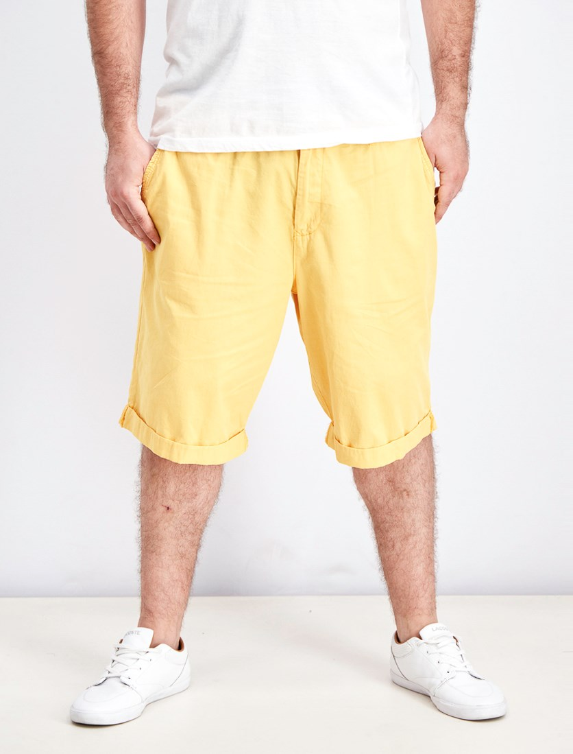 Men's Belt Loops Short, Yellow