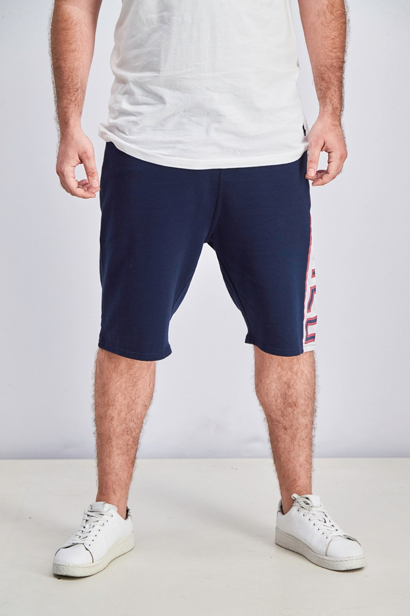 Mens Byjugz Short Shorts, Navy Blue