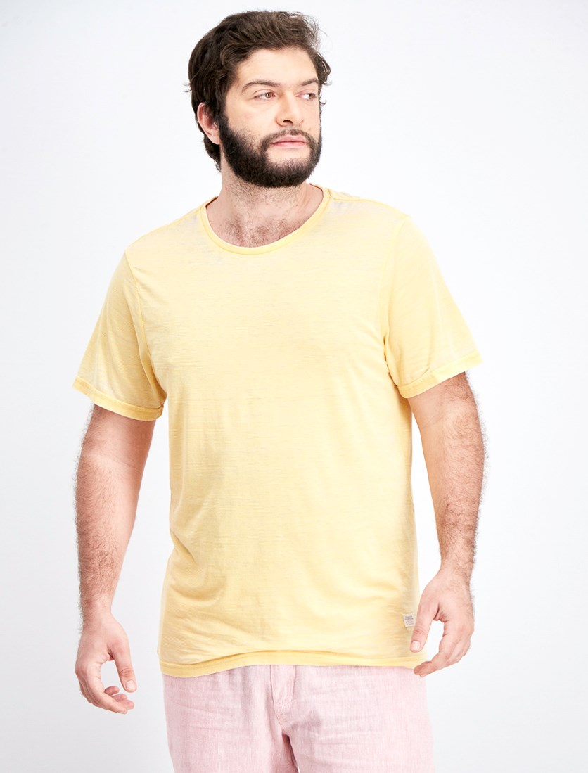 Men's Kasun Stripe T-Shirt, Yellow