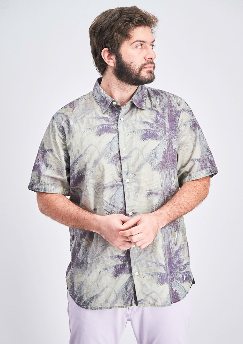 Men's Sybeachy Shirt, Green Combo