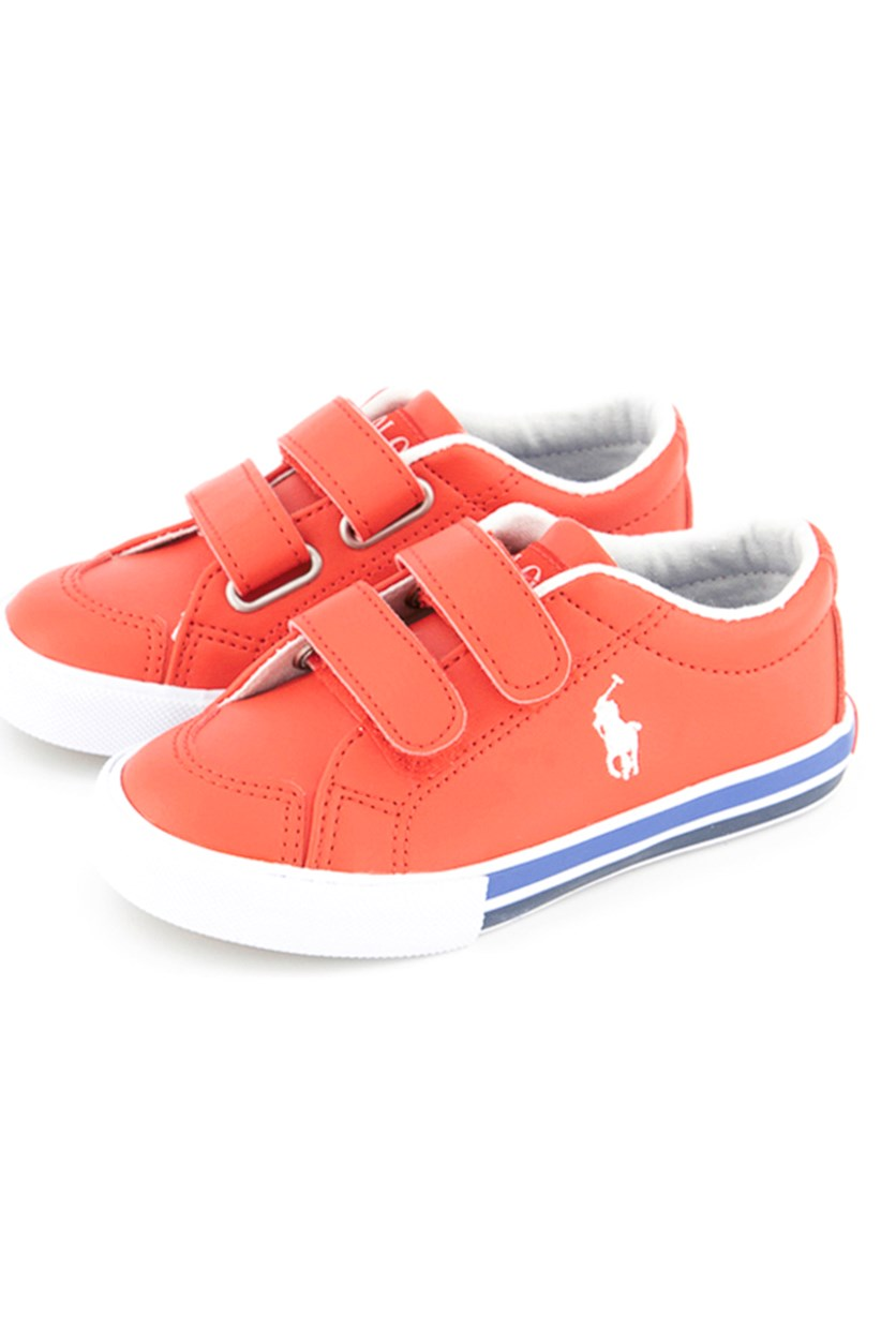 Little Boys Edmund EZ Shoes, Red