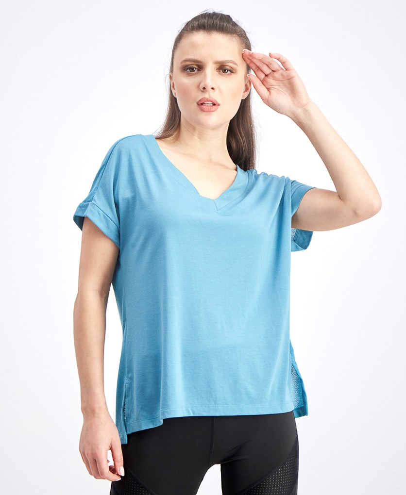 Women's Short Sleeve Top, Mist