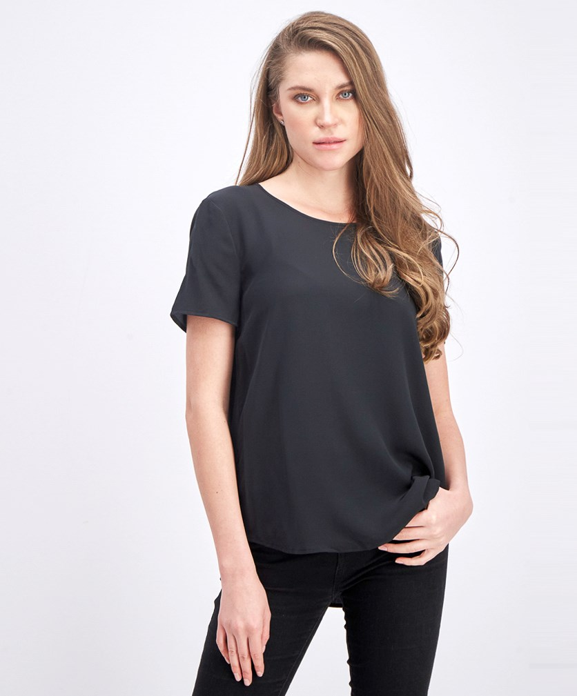 Women's Plain Top, Black