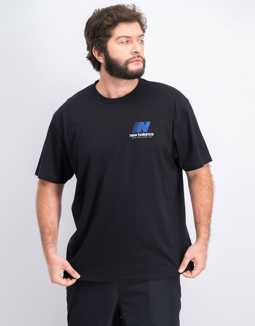 Men's Crew Neck Shirt, Black
