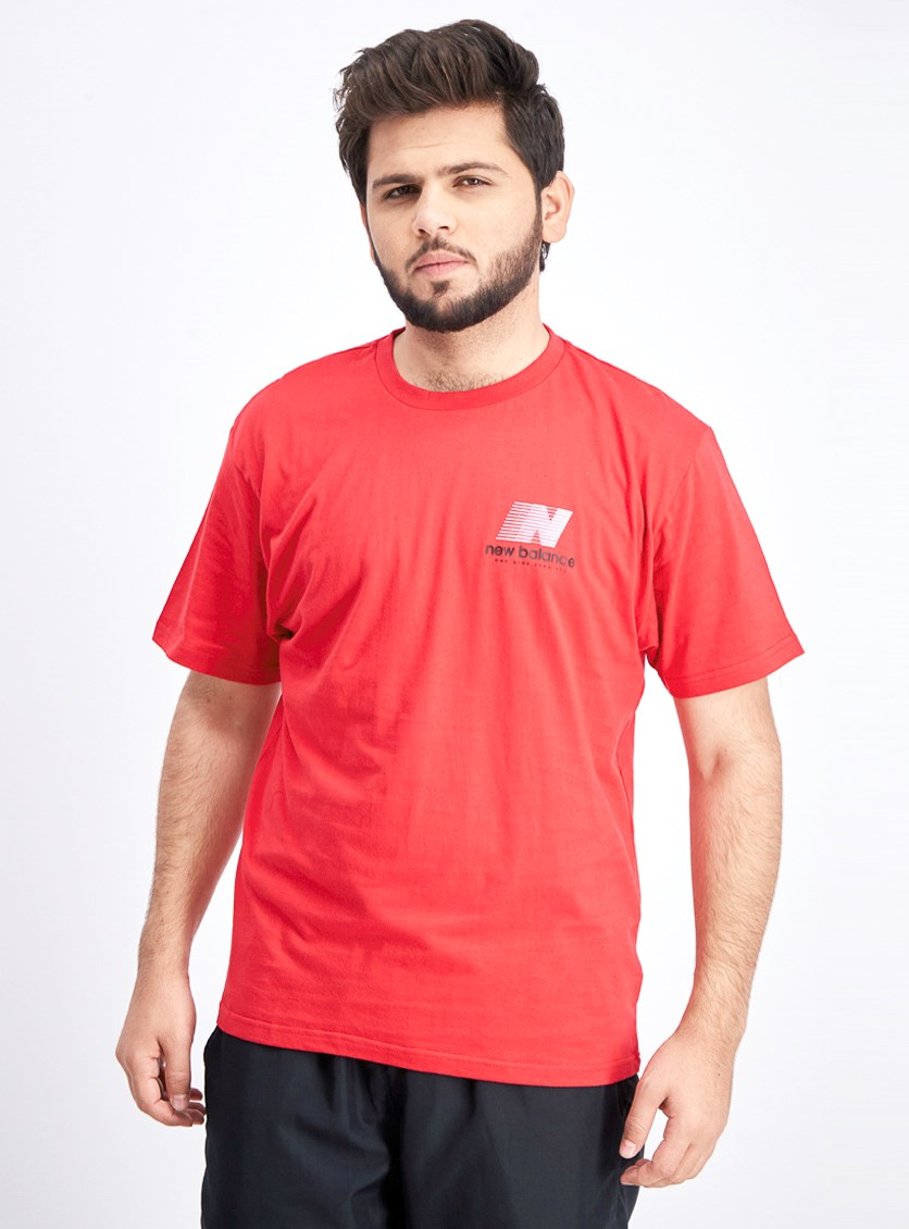 Men's Crew Neck Shirt, Red