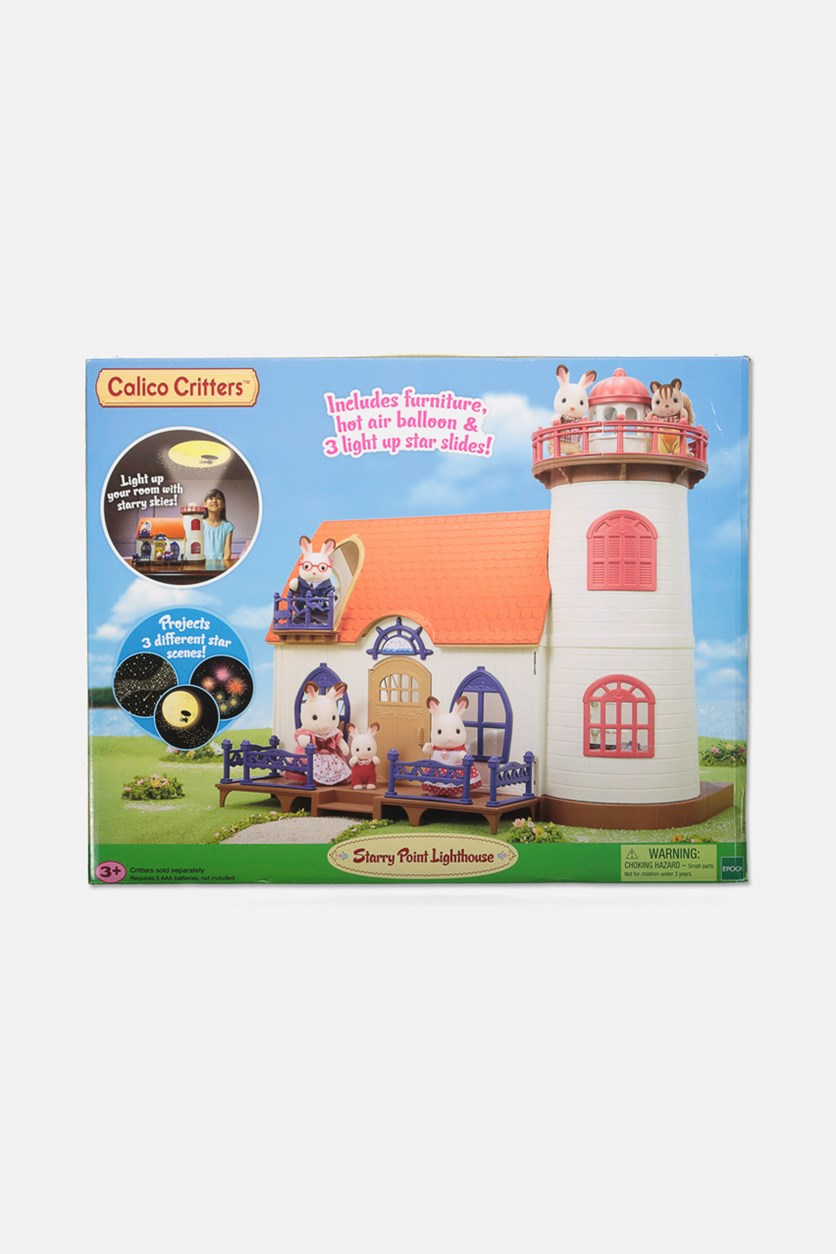 Calico Critters Starry Point Lighthouse, Blue Combo