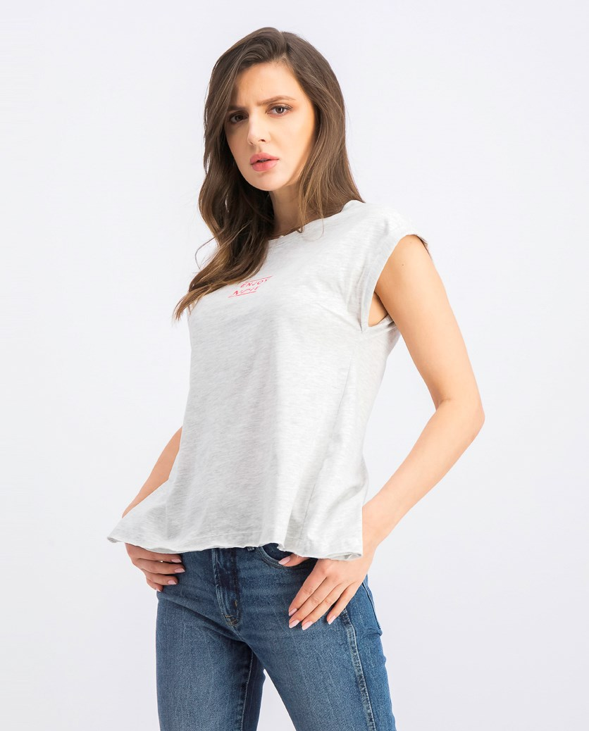Women's Cap Sleeve Top, Grey