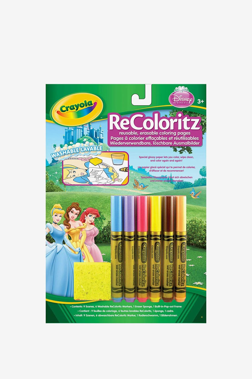 Disney Princess Color Wonder ReColoritz, Green Combo