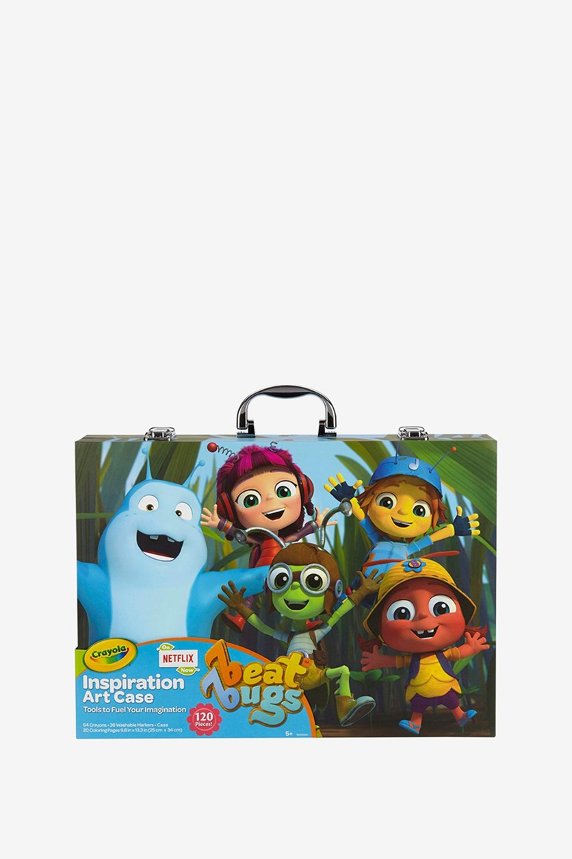 Beat Bugs Inspiration Art Case, Green Combo