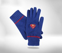Kids Boy's Superman Gloves, Blue
