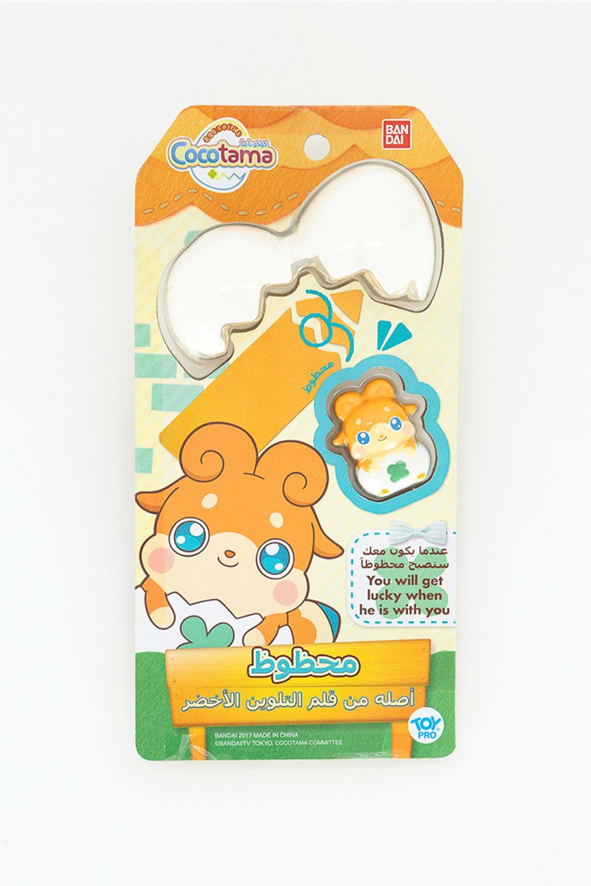 Cocotama Doll Rakitama, White/Orange