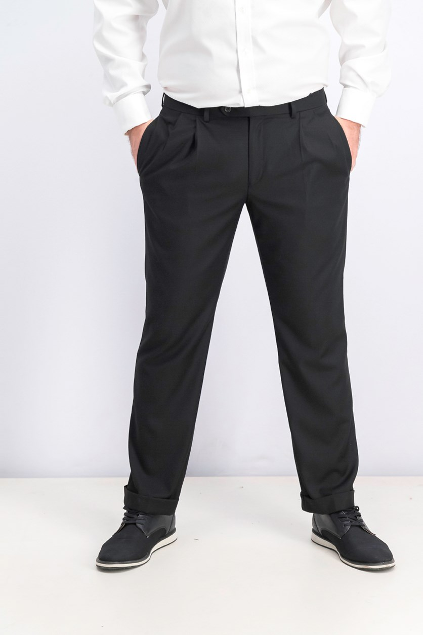 Men's Classic-Fit UltraFlex Pants, Black