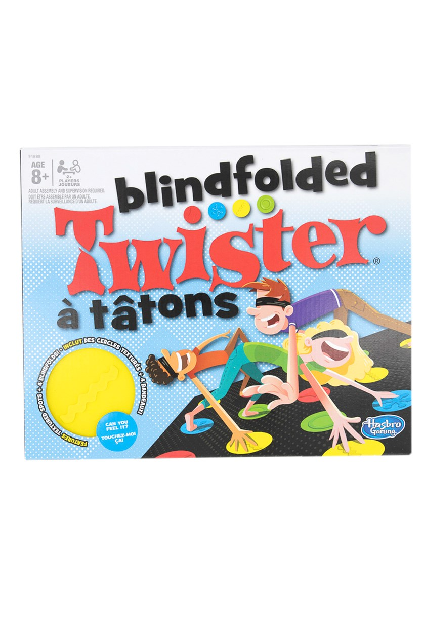 Blindfolded Twister Game, Blue Combo