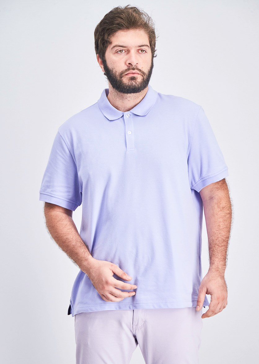 Men's Performance Polo, Fresh Orchid