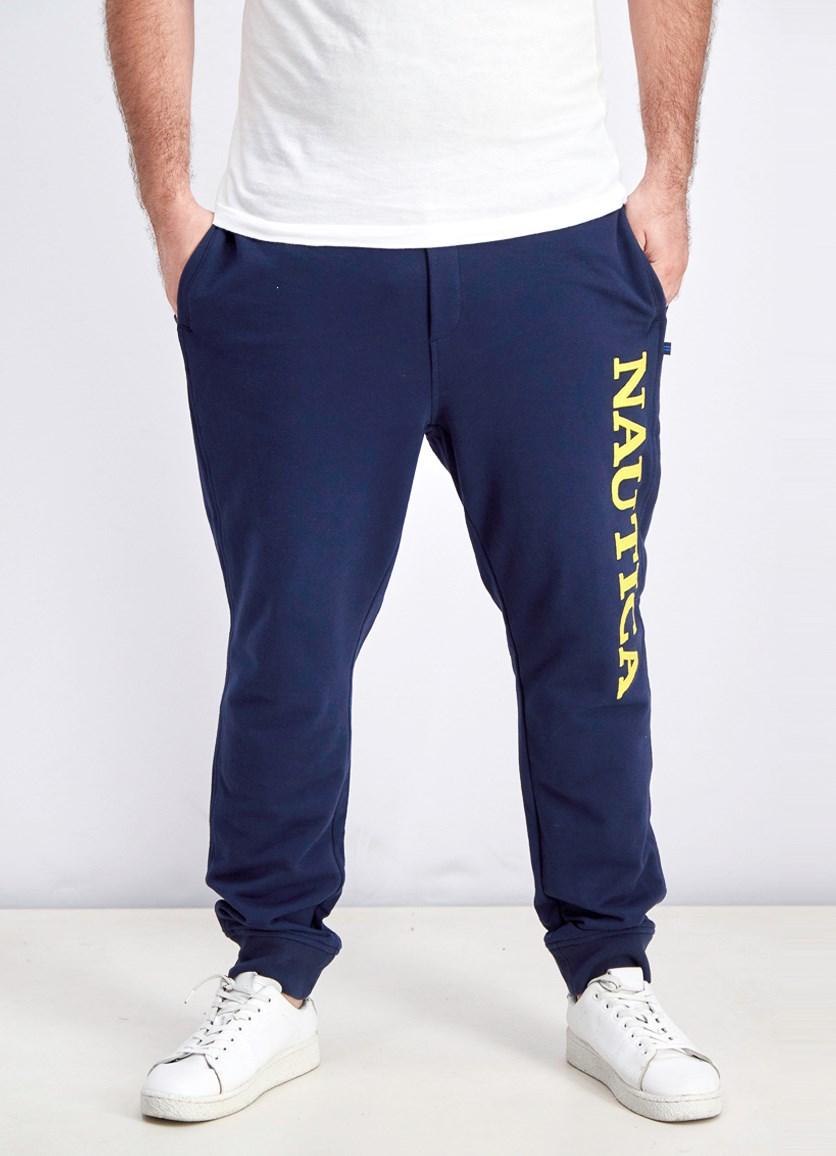 Men's Classic-Fit Logo Joggers, Navy