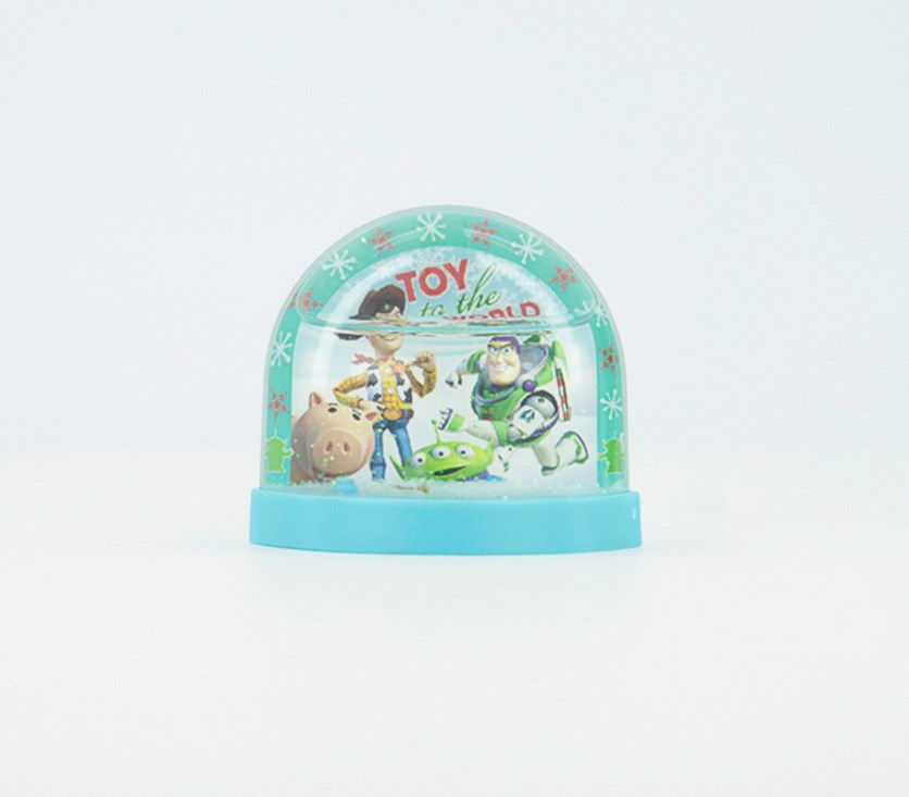 Toy Story Lenticular Plastic Snowglobe, Blue/Green