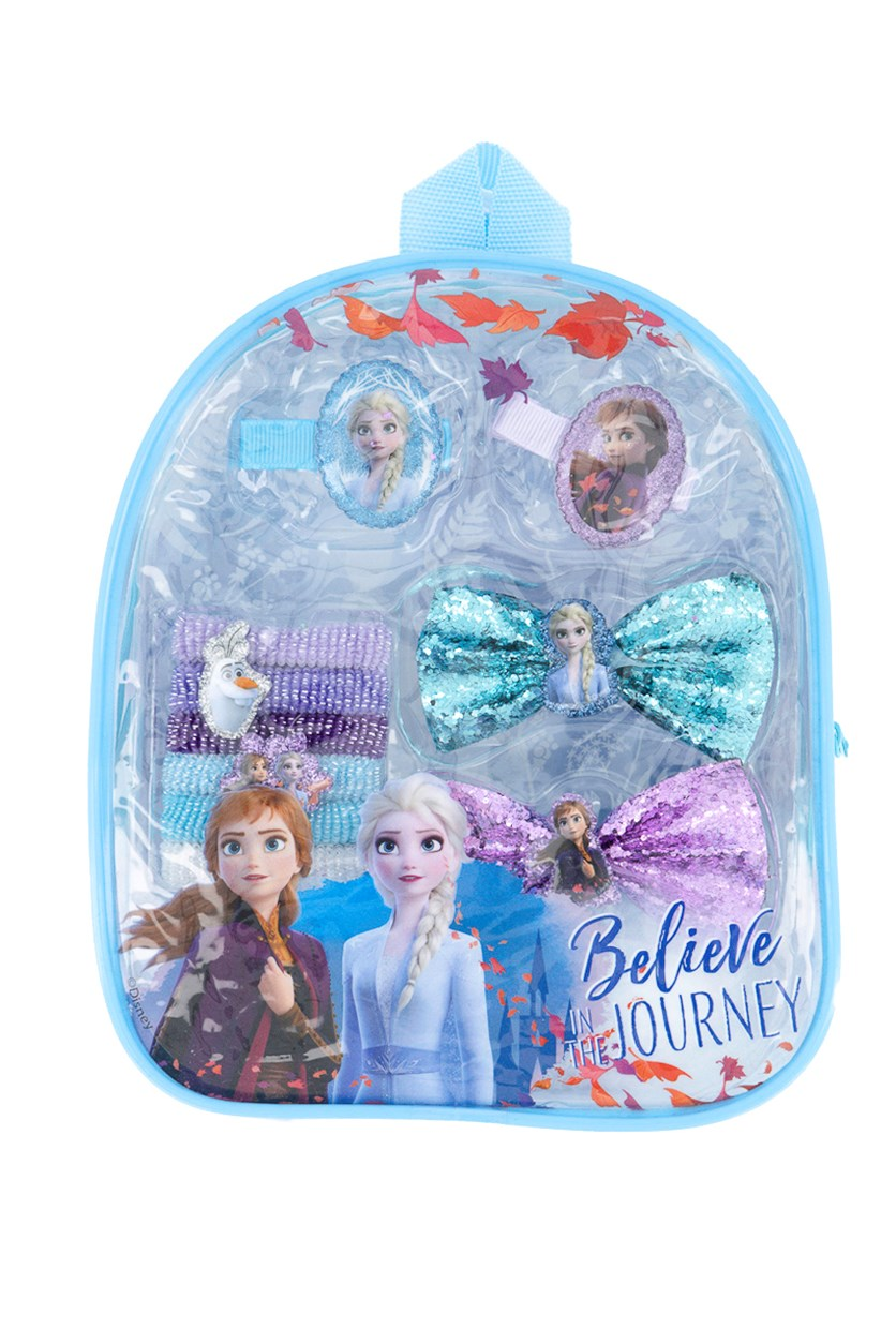 Frozen II Accessory Set Backpack, Blue