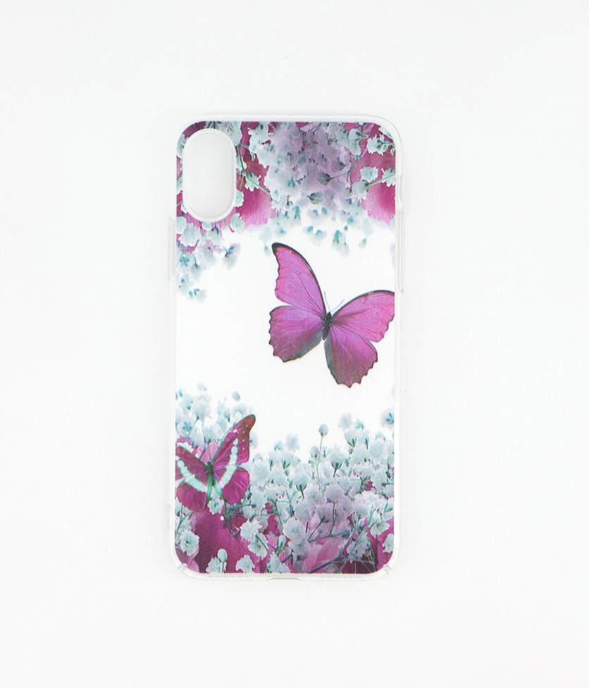 Fashion Print Case for iphone X/XS, Purple
