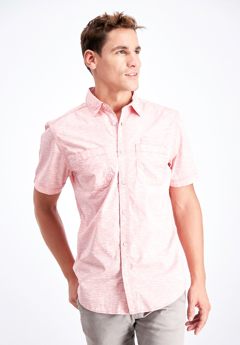 Men's Clarence Shirt, French Tulip