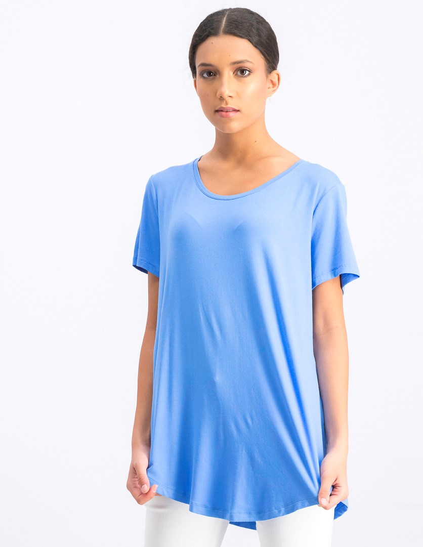 Women's Scoop-Neck Top, Marina