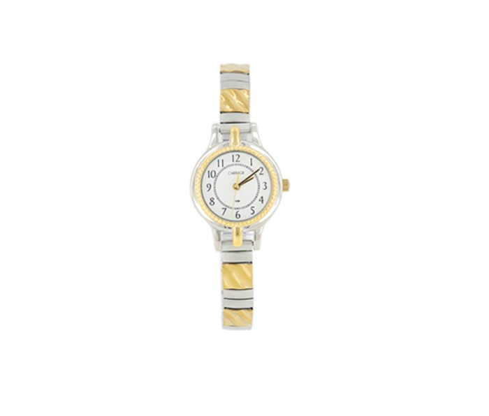 Women's Two-Tone Round Watch, Gold/Silver