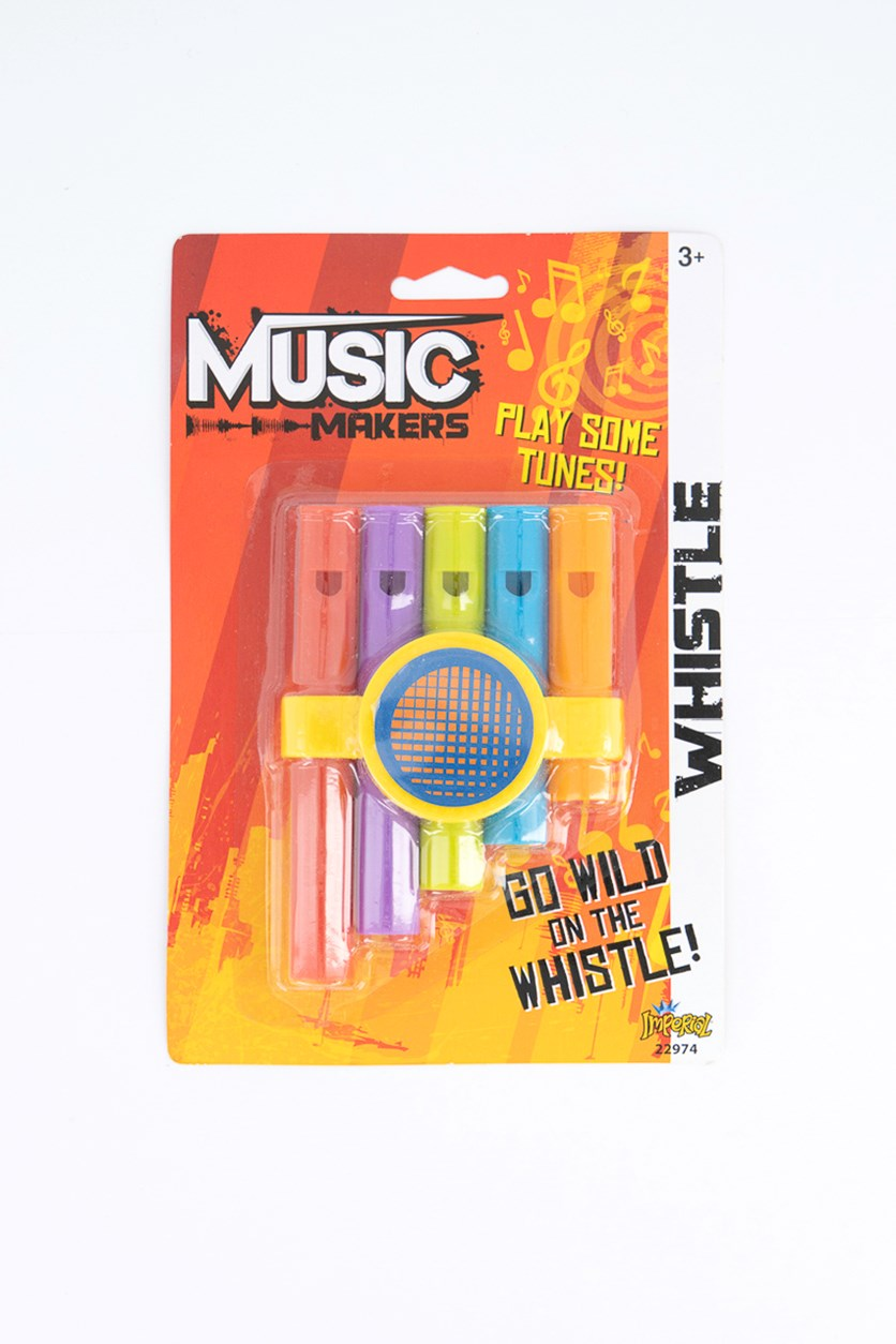 Music Makers Whistle, Red Combo