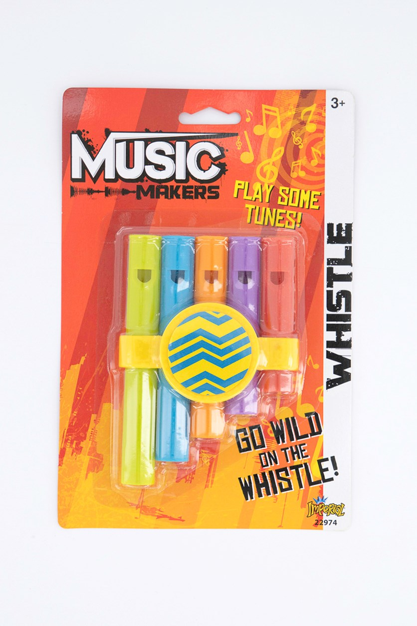 Music Makers Whistle, Green Combo