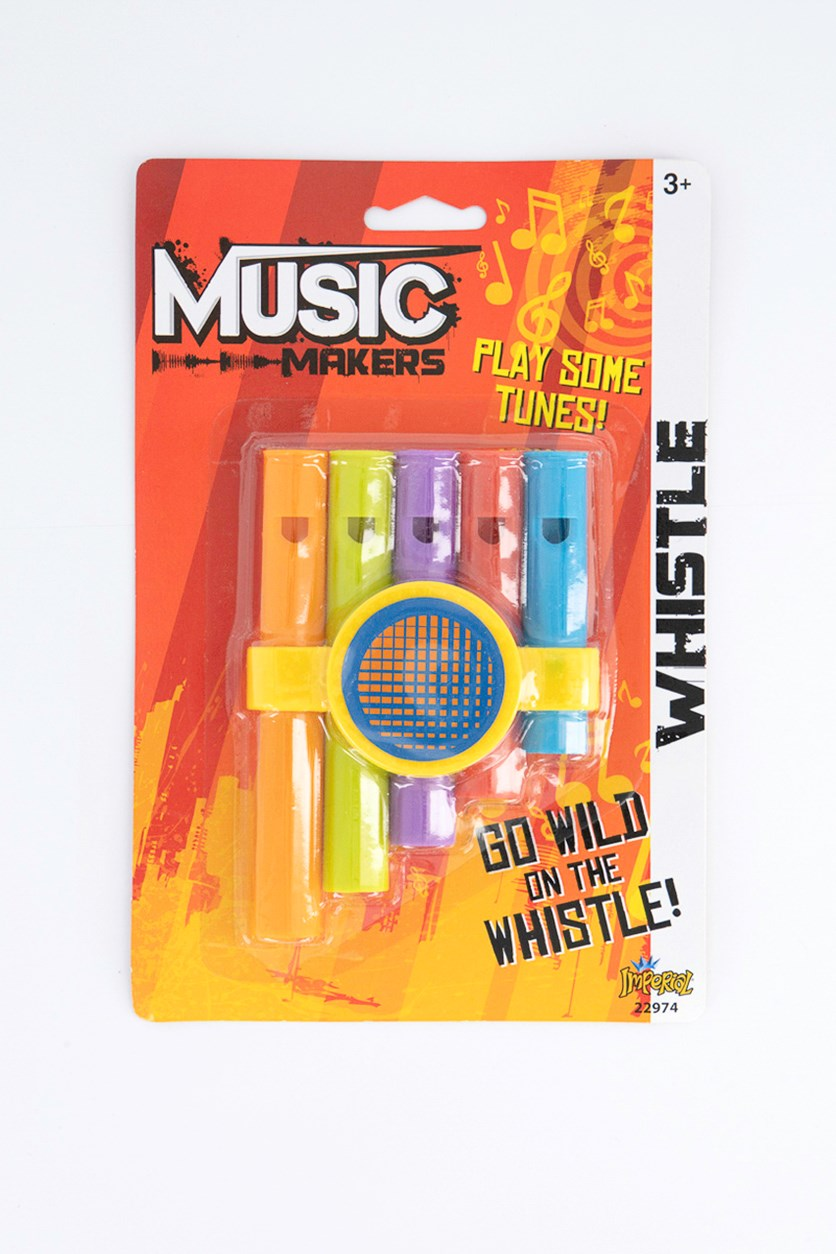Music Makers Whistle, Orange Combo