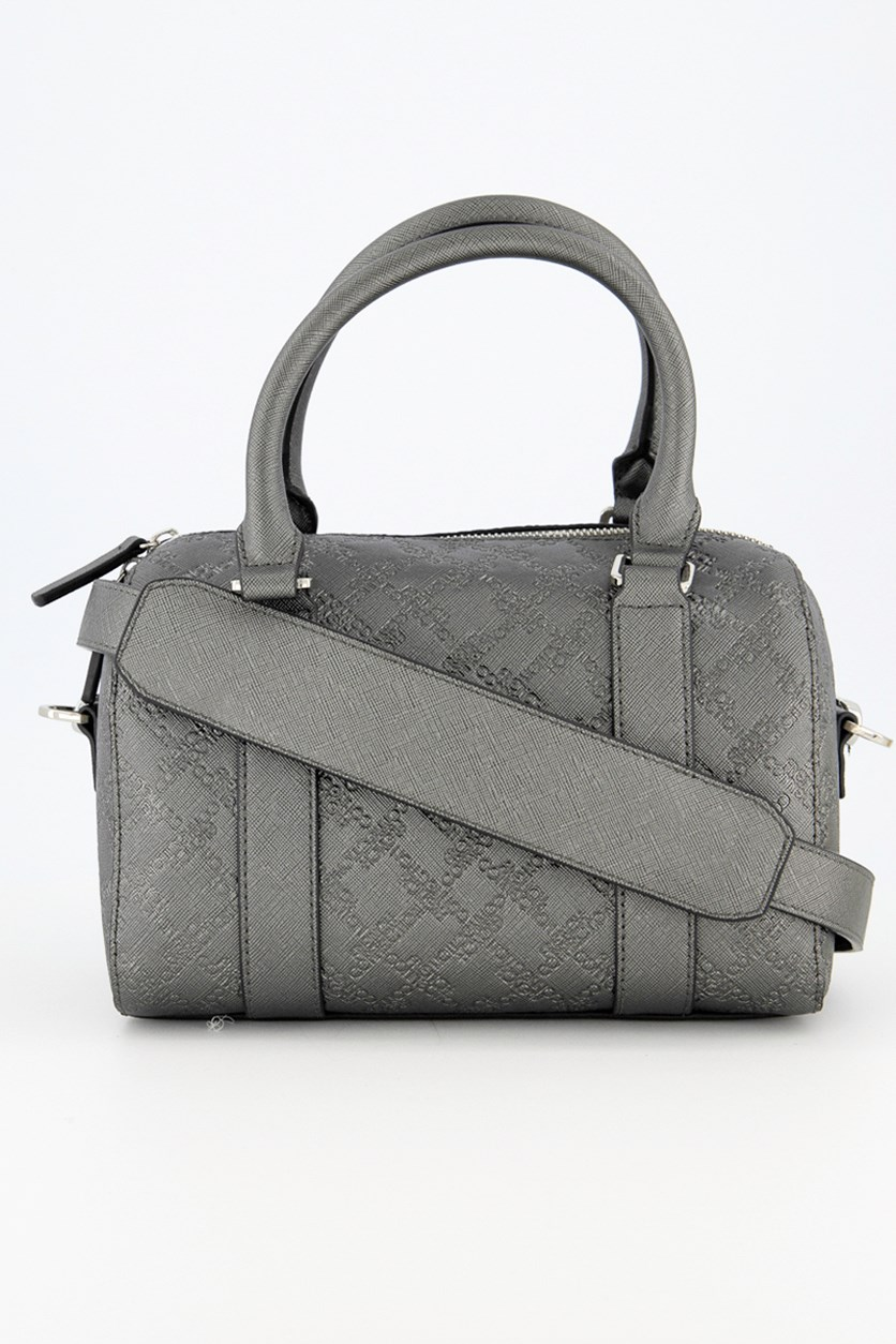 Women's Marin Mini Speedy Satchel Bags, Gunmetal