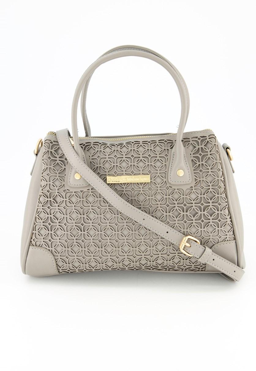 Women's Celie Satchel Sling Bag, Grey