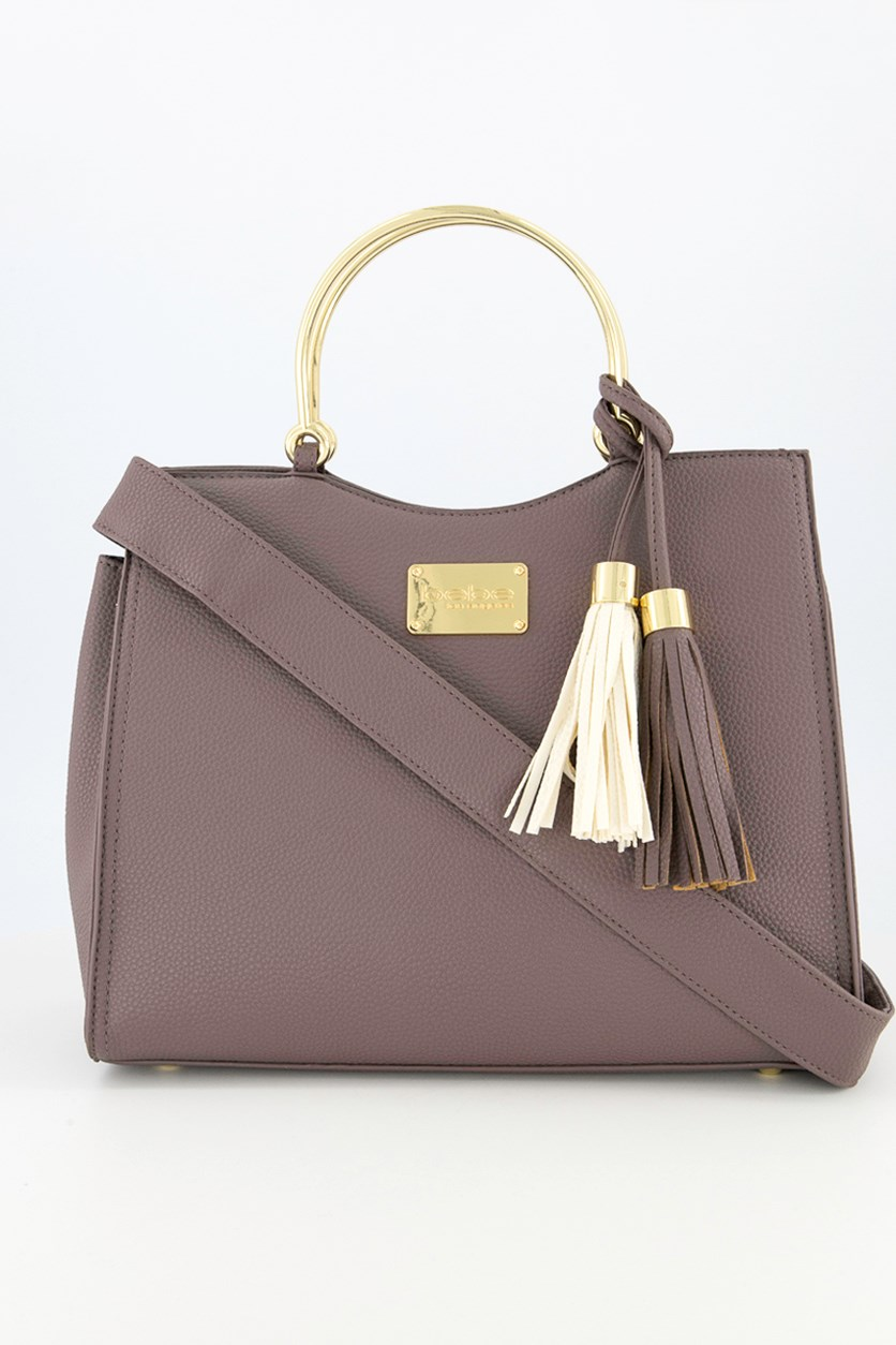 Women's Zsa Zsa Shopper Bag, Dark Mauve