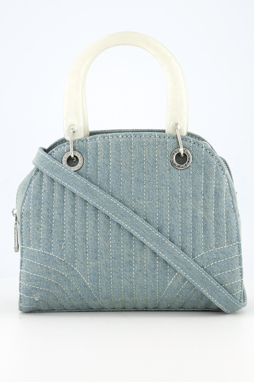 Women's Erikson Denim Satchel, Denim
