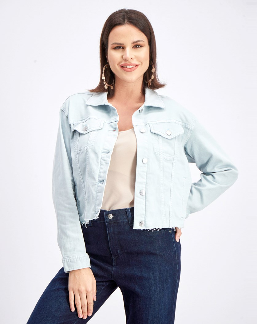 Women's Denim Jacket, English Blue