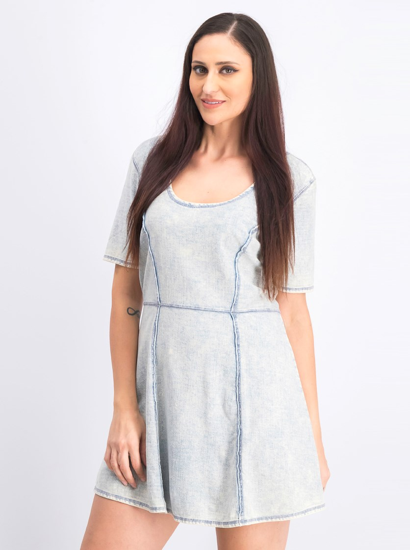 Women's My Way Dress, Vintage White