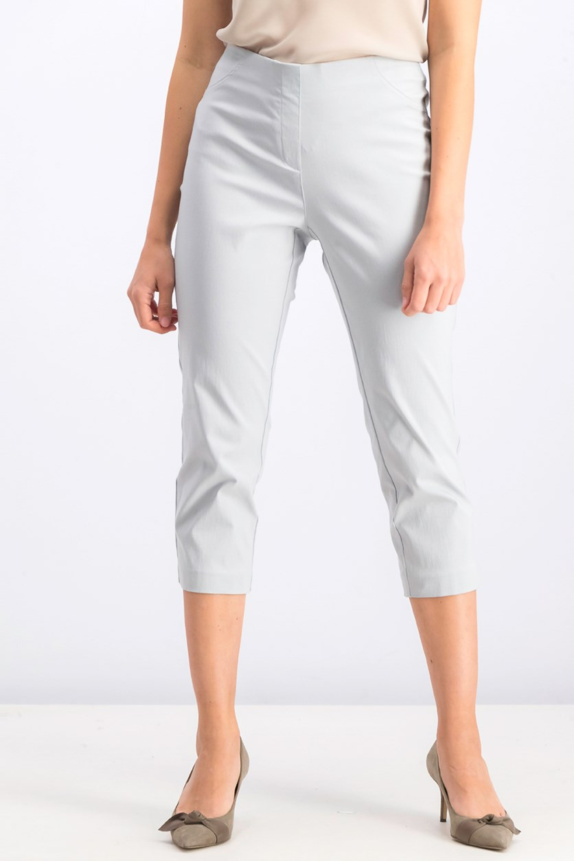 Women's Pull-On Capri Pants, Misty Harbor
