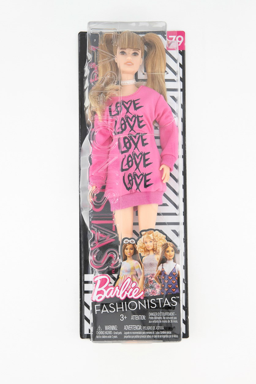 Mattel Barbie Fashionista Pullover-Dress, Pink