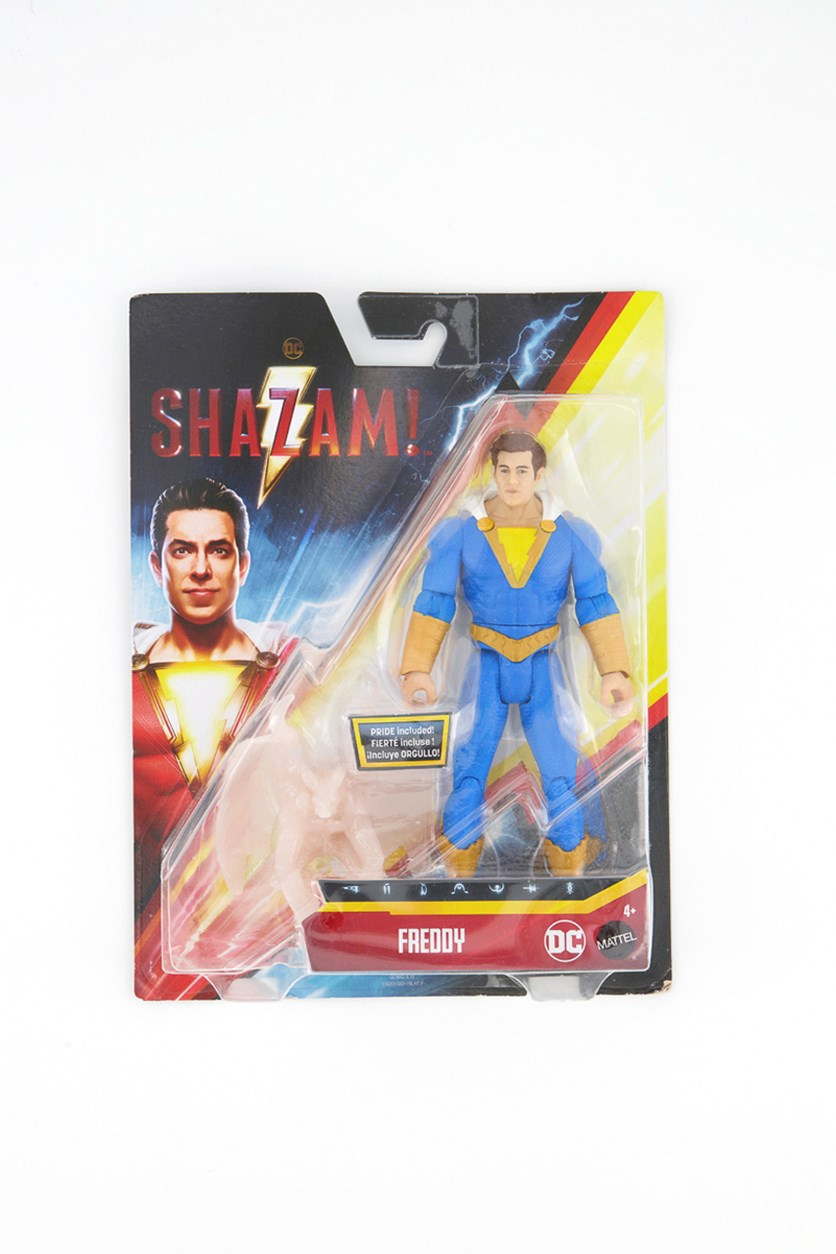 Shazam Movie Freddy Action Figure, Blue