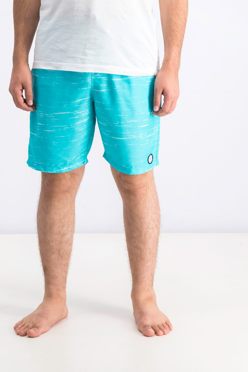 Men's Streaky Swim Trunks, Torquoise